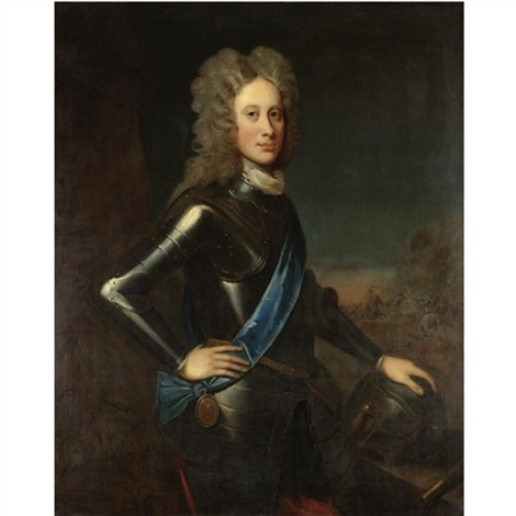 portrait of a nobleman john campbell 2nd duke of argyll by william aikman