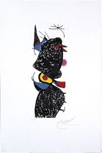 le coq de bruyère by joan miró