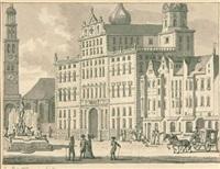 das rathaus von augsburg by jan bulthuis