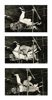 leigh bowery the birth (triptych) by iris de ath