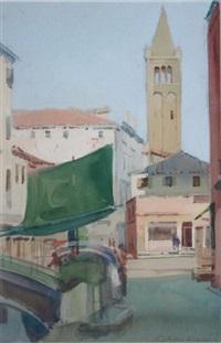 corner of the bridge, venice by niccolo d'ardia caracciolo
