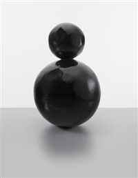 baby snowman black by gary hume