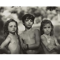 emmett, jessie and virginia by sally mann