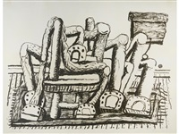 room by philip guston