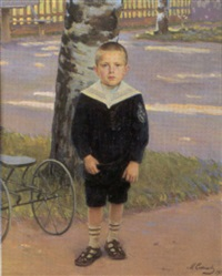 den unga aleksi by michail ksenofontovich sokolov