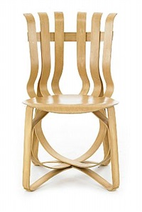 hat trick chair by frank gehry