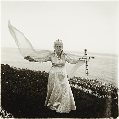 bishop ethel predonzan, by sea by diane arbus