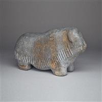musk ox by barnabus arnasungaaq