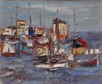 flotille de peche by jean sardi
