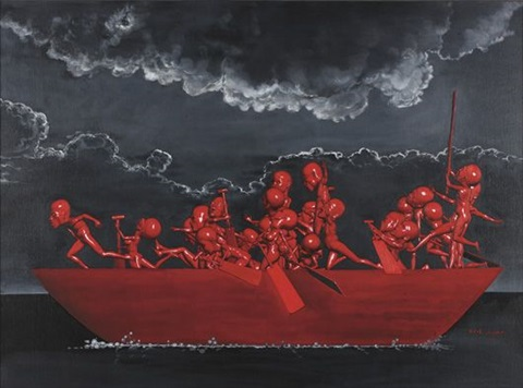 ferry to happiness by shi lifeng
