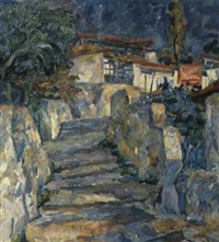 gourzouf, l'escalier by valentina rakhina