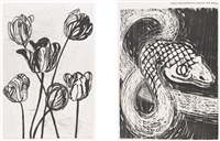the temple of flora (bk w/28 works) by jim dine