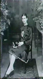 frida kahlo at 18 by guillermo kahlo