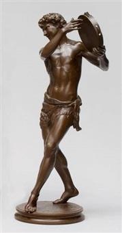 le danseur de saltarelle by justin chrysotome sanson