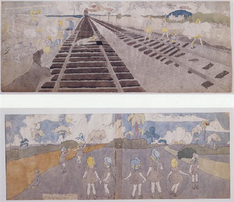 battle near mc hollester run by henry darger