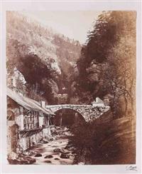 vues photographiques du dauphiné et de la savoie, france (8 works) by victor muzet