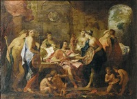 an allegory of the liberal arts by charles alphonse dufresnoy