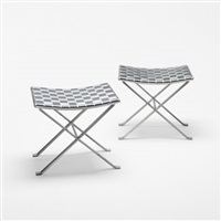 stools (pair) by michel pigneres