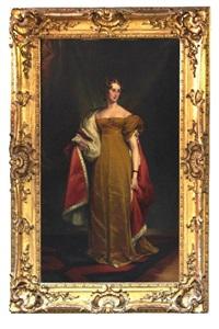 portrait of elizabeth-sophia langford-brook by george lethbridge saunders