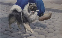 keeshond by walter alois weber