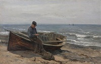mending nets by archibald david reid