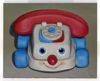 fisher-price chatter telephone by omar mañueco