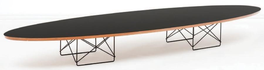 Table Basse Modele Surfboard By Charles Eames On Artnet