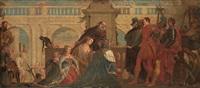 la famille de darius devant alexandre by paolo veronese