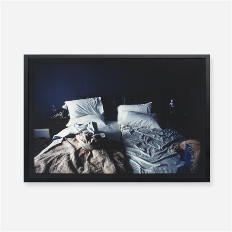 empty beds lexington massachusetts by nan goldin