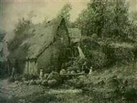 holystreet mill, nr. chagford, deyon by john anderson