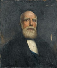 portrait of donald alexander smith by adolfo felice müller-ury