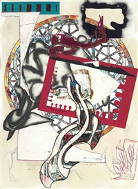 pacific (from the waves) by frank stella