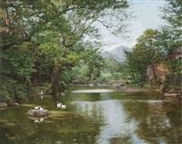 风景 (scenery) by deng bin