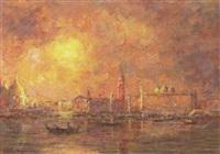 solnedgang over venedig by marco varutti-klefenhausen