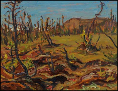 muskeg lockhart river by alexander young jackson