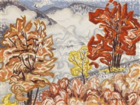 fall foliage by isabel mclaughlin