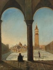 piazza san marco in venice by david jacobsen