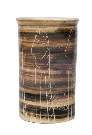 vase by oswald tschirtner