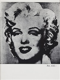 not warhol (marylin) by mike bidlo