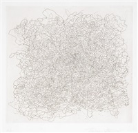 gathering - composition in black and white (+ ariadne's thread, irgr; 2 works) by thomas stavovy