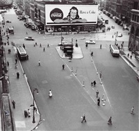 astor place by rudy burckhardt