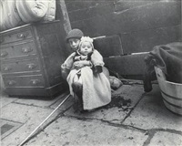 minding the baby, cherry hill by jacob august riis