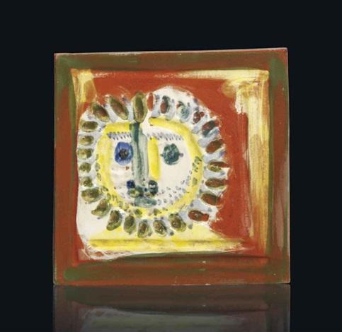 petit visage solaire by pablo picasso