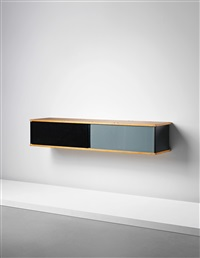 wall-mounted sideboard by charlotte perriand