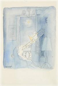 moonlight serenade by jean-jacques sempé