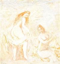 les baigneuses by zoya naumovna lerman
