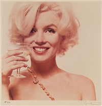 marilyn monroe, here's to you (aus: the last sitting) by bert stern