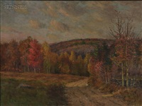 late afternoon, autumn by edmund elisha case