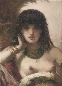 odalisque by joseph coomans
