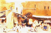 an arab market by henry simpson